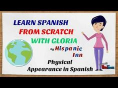 Physical appearance and descriptions with the verb TENER in Spanish - YouTube