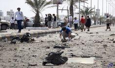 ارتفاع عدد قتلى تفجيرات المكلا التي استهدفت…: ارتفاع عدد قتلى تفجيرات المكلا التي استهدفت مراكز أمنية إلى 38