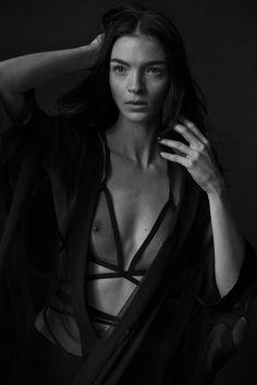 Peter Lindbergh, Mariacarla Boscono, Vogue, Italia, January 2014