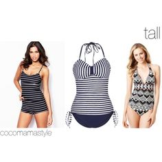 Essential swimwear: tall  | cocomamastyle.com