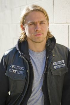 "The sexiness that is Jax Teller <3 lol  Charlie Hunnam is an English actor. He is best known for playing Jackson ""Jax"" Teller, Vice President/President of the Sons of Anarchy Motorcycle Club Redwood Original in the series, Sons of Anarchy."