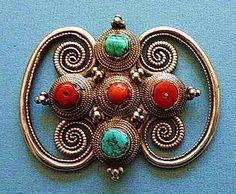Hair Ornament from Tibet