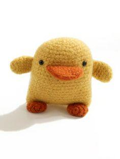 2000 Free Amigurumi Patterns: Doris the Duckling