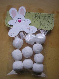 Bunny Tails..Powder donut holes