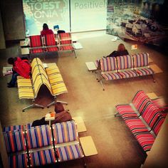 The International Airport 'Lennart Meri' in Tallinn, Estonia #visitestonia, #tallinn, #airport