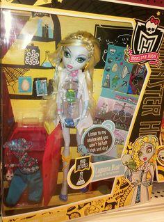 MH  Lagoona by napudollworld, via Flickr Monster High, Princess Zelda, Dolls, Halloween, Birthday, Board, Fictional Characters, Baby Dolls, Birthdays