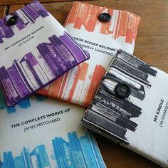 Some of the colours we are trying out for the Kindle covers