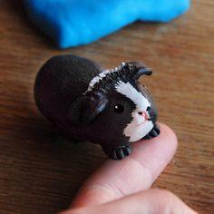 Figurine cochon d'inde personnalisée - votre animal de compagnie - bibelot - miniature sur mesure - cadeau souvenir #guineapig #pet #love #cochondinde #cadeau #souvenir #petportrait #memory #sweet #animal #hamster #cavia #モルモット #기니아피그 #Meerschweinchen #cute #可愛い