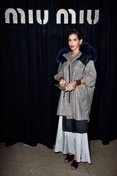 Miu Miu : Arrivals - Paris Fashion Week Womenswear Spring/Summer 2016 - Princess Deena Al-Juhani