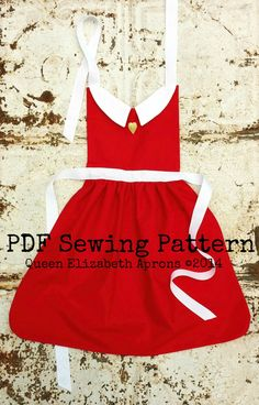 ANNIE Sewing PATTERN. Disney inspired Child Costume Apron. Dress up Play Birthday Party Photo shoot. Fits sizes 2t 3t 4 5 6 7 and Girls 8.