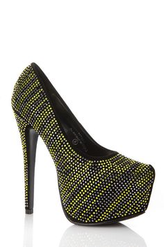 Check out the vibrant gem stone detail! It features a padded insole, striped gem stone rhinestone detail, faux suede material, and hidden pump. These pumps are perfect for almost any occasion! This pair if definitely ready for a night out on the town styled with a simple bodycon dress and spiked clutch!  www.cicihot.com #chunky #cute #straps #fun #bathingsuits #spring #summer #summertimefine #womensfashion #fashion #fashionistas #cute #worldoffashion #behot #cicihot #shop #shopaholics