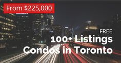 Search Results for Condos in Toronto By Price