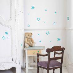 Small Star Wall Stiker Set