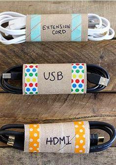 Saiba como reaproveitar os rolos de papelão do papel higiénico, em objectos decorativos e úteis. - Chiado Magazine