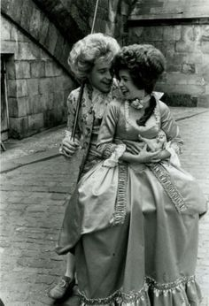 Tom Hulce & Elizabeth Berrigde (Amadeus 1984) Milos Forman. Photo The Saul Zaentz Company & Orion Pictures.