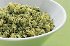 Spicy Poblano Rice | Damn! Recipes