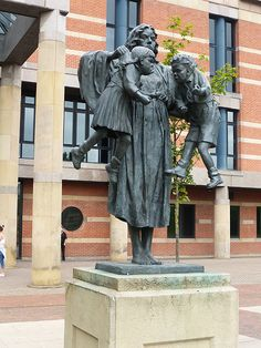 Scales of Justice statue, Middlesbrough (C) Oliver Dixon Lady Justice, Middlesbrough, Britain, Statue, Sculpture, Sculptures
