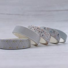 5 Piece Snow Mosaic Washi Tape Set | The Washi Tape Shop. Beautiful Washi and Decorative Tape For Bullet Journals, Gift Wrapping, Planner Decoration and DIY Projects #ad #scrapbooking #washitape #maskingtape #plannerdecoration Washi Tape Set, Masking Tape, Planner Journal, Decorative Tape, Planner Decorating, Bullet Journals, Heeled Mules, Mosaic, Scrapbooking
