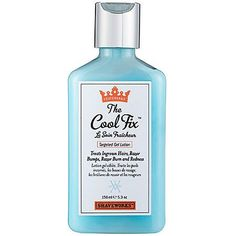 Shaveworks The Cool Fix™ Shaveworks The Cool Fix™ is a soothing blue gel that alleviates shaving and waxing woes. It targets ingrown hairs, razor bumps, razor burn, and redness. Let your skin chill ou