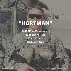 """Hortman"" WOD - AMRAP in 45 minutes: 800 meter Run; 80 Air Squats; 8 Muscle-Ups"