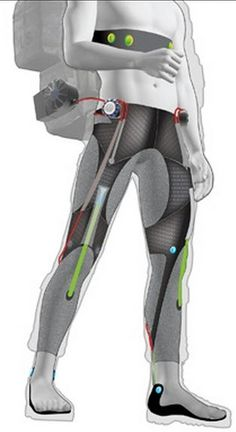 A soft 'wearable robot' exosuit to increase stamina for soldiers and civilians