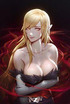 KISS-SHOT  Zeronis by Zeronis.deviantart.com on @DeviantArt - More at https://pinterest.com/supergirlsart/ #sexy #anime #girl