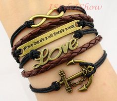 Love anchor quote infinity
