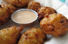 Conch Fritters by the Dozen