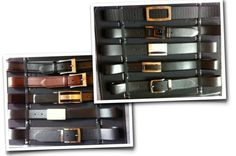 More to look forward to: we've signed a new licensing deal with Custom Leathers Canada Ltd. for belts and small leather goods. We're launching for Spring '13.