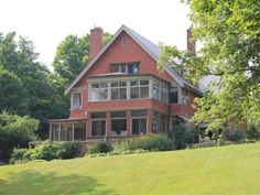 Entire home/apt in Mississippi Mills, Canada. Pinehurst Manor is in the beautiful town of Almonte, 20 minutes west of Ottawa. The historic waterfront residence was built in 1890 by the Rosamond. Renting A House, Perfect Place, Condo, Tours, Cabin, Vacation, Mansions, Architecture, House Styles