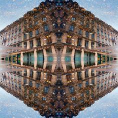 #reflection #mirror #water #architecture #urban #symmetry creation © Jonathan Stutz