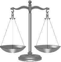 scales of justice - arts and sciences