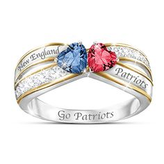 Heart Of New England Ring
