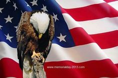 Memorial Day 2013 US Eagle Flag Wallpapers Free Download