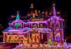 Christmas lights displays around Reno, Nevada
