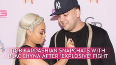 Rob Kardashian and pregnant Blac Chyna were all smiles on Snapchat together Wednesday, August 3, following their 'explosive' argument — see their filter-filled reunion! …  #entertainment #celebgossip #celebnews #hollywood #movies #music #actors #singers #art #interestingnews #entertainmentnews #popculture