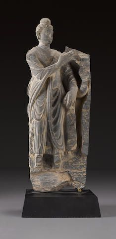 A relief panel with Buddha Ancient Region of Gandhara, 2nd/3rd century