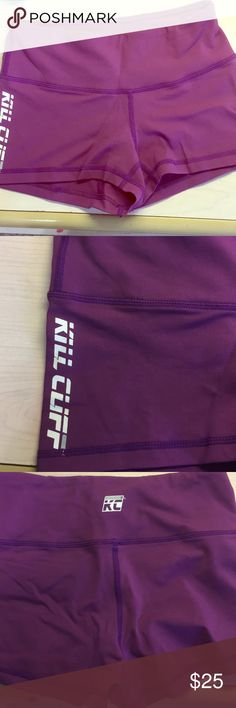 """Kill Cliff Shorts 2"""" Never worn. Way too small for me. Bought these at the Crossfit Games. Not sold on Kill Cliff Website Kill Cliff Shorts"""
