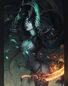 Fantasy Female Warrior, Fantasy Demon, Gothic Fantasy Art, Demon Art, Fantasy Art Women, Beautiful Fantasy Art, Fantasy Girl, Fantasy Artwork, Female Art