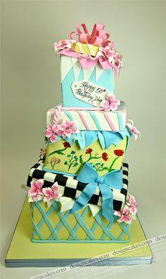 """Happy 50th Birthday, Diane! I got you a six-hundred-dollar cake!"""