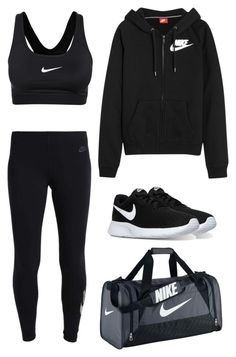 """""""80"""" by tasneemkm ❤ liked on Polyvore featuring NIKE"""