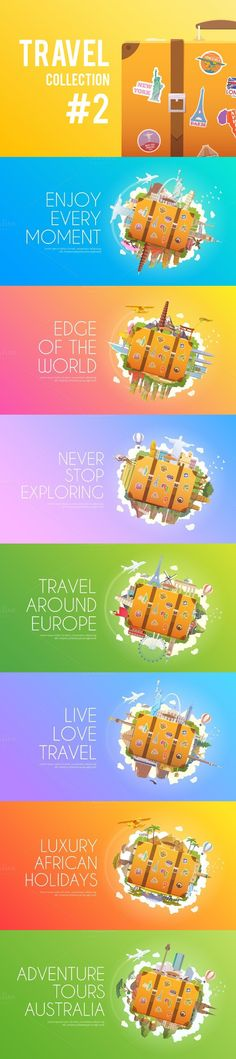 Travel Collection #2. Travel Infographics. $11.00