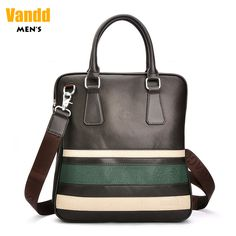 Aliexpress.com : Buy Vandd Men's Fashion Brown Green Striped Soft PU Leather Tote Vertical Handbag Verstaile Zipper Bag Shoulder Strap Messenger New from Reliable mens leather purses suppliers on Vandd Men. $62.00
