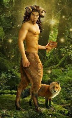 Seres mitológicos terrestres #13 SÁTIRO                                                                                                                                                                                 Más