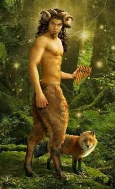 Seres mitológicos terrestres #13 SÁTIRO