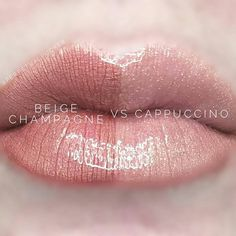 Beige Champagne vs Cappuccino  I would love to tell you about the amazing products SeneGence offers. From skin care to LipSense, we have something for everyone. Message me to order or ask me how you can join my team. You can also find me at Facebook.com/KissandMakeupinIndiana.   Independent Distributor #366038
