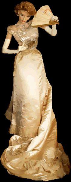 vintage victorian gowns | ... Clothing, Vintage Clothes, Antique Gown, Antique Dress, Victorian