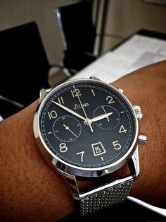 Stowa 1938 Chronograph Black