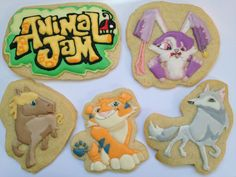 Check out these Jam-Tastic Animal Jam Cookies! They are almost too cute to eat! #playwild