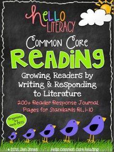 Common Core Reading: Comprehension Strategy Sheets for K-2 Fiction Standards - Jen Jones-Hello Literacy - TeachersPayTeachers.com